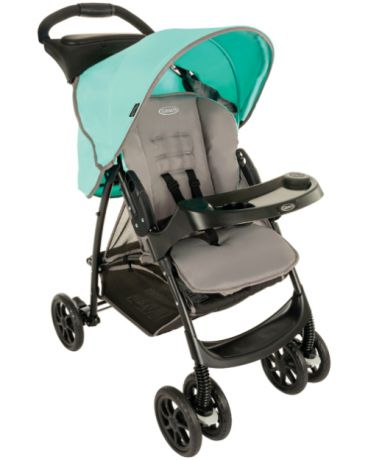 Graco прогулочная Mirage Mint Gray
