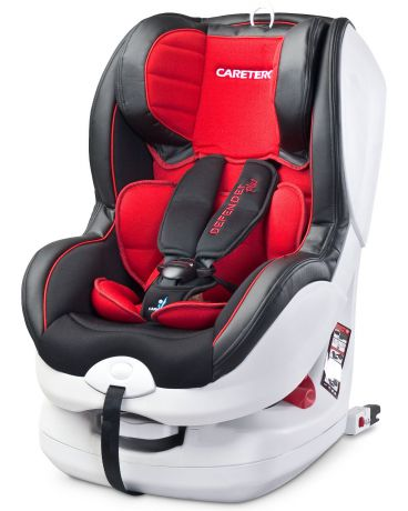 Caretero Defender Plus ISOFIX red