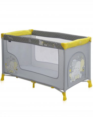Bertoni (Lorelli) кровать Nanny 1 yellow elephants