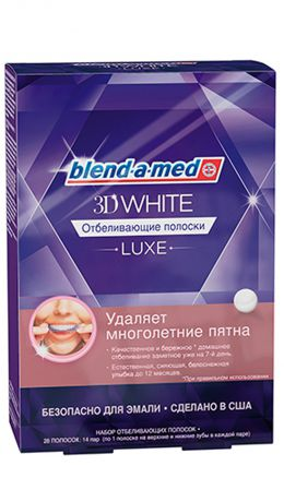Blend-a-med 3DWhite Luxe 14 пар