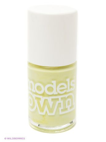 Models Own Лак для ногтей, Cream Sticky Fingers Pastel Petal Green  Models Own