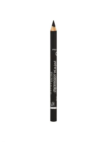 "Maybelline New York Карандаш для глаз ""Expression Kajal"", оттенок 33, черный, 1,14 г"