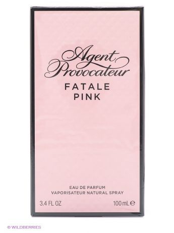 AGENT PROVOCATEUR Парфюмерная вода FATALE PINK, 100 мл