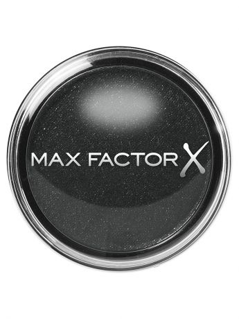 MAX FACTOR Тени одноцветные Wild Shadow Pots Eyeshadow 10 тон ferocious black