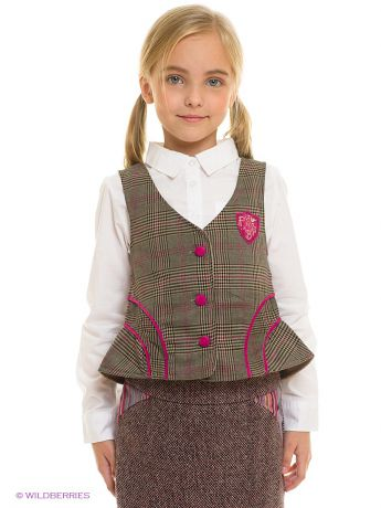 "Fore!! Axel and Hudson Жилет ""English Plaid Vest w/ Corduroy Detail"""
