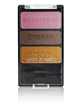 "Wet n Wild Тени для век трио ""color icon eyeshadow trio"", тон im getting sunburned"