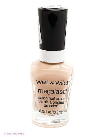 "Wet n Wild Лак для ногтей ""megalast salon nail color"", тон sugar coat"