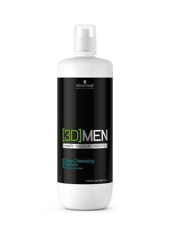 3DMEN Шампунь [3D]MEN Deep Cleansing 1000 мл