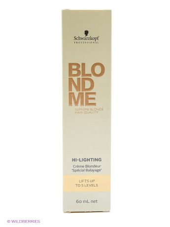 BLONDME Краситель BM Hi-Lighting Warm Gold 60 ml