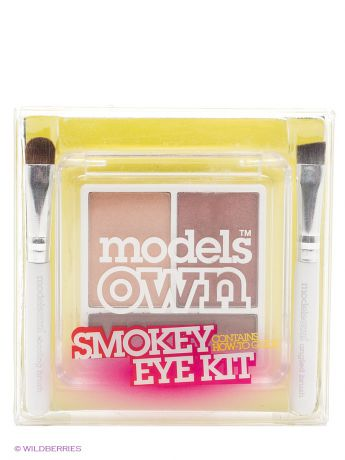 Models Own Тени для глаз 4г,Trio Smokey Eye Kit-Smolder Models Own