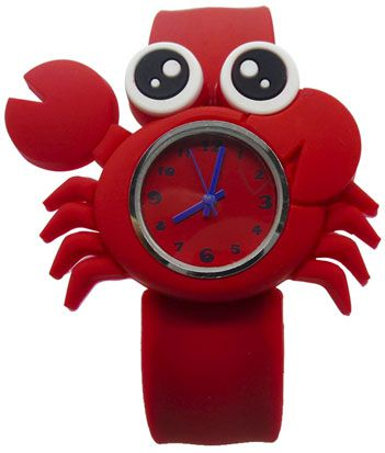 Slap on watch Детские наручные часы Slap on watch Cartoon-Krab