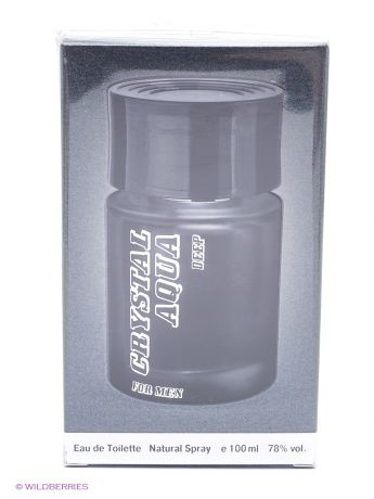 PARFUMS GENTY CRYSTAL AQUA FOR MEN DEEP 100 мл