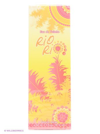 PARFUMS GENTY Туалетная вода RIO RIO 50 ML SPRAY