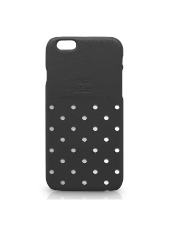 Kajsa Чехол для  iPhone 6 Plus Neon Collection Polka Dot pattern Pocket back case [iPhone 6- 5.5], Black