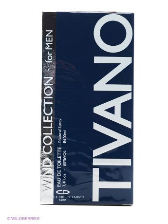 CHRISTINE DARVIN WIND COLLECTION TIVANO FOR MEN EDT 100ML SPRAY