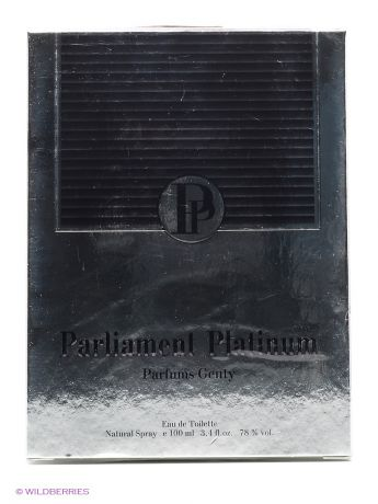 PARFUMS GENTY PARLIAMENT PLATINUM EDT 100 ML SPRAY (LOR)