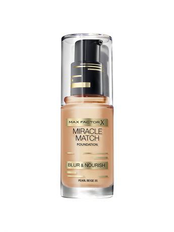 MAX FACTOR Тональная основа Max Factor Miracle Match Тон pearl beige 35