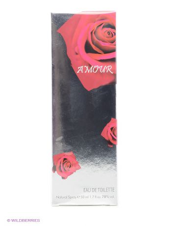 PARFUMS GENTY Туалетная вода AMOUR EDT 50 ML SPRAY