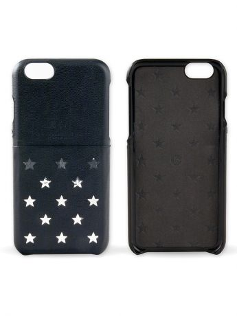 Kajsa Чехол для iPhone 6 Plus Neon Collection Star pattern Pocket back case [iPhone 6- 5.5], Black