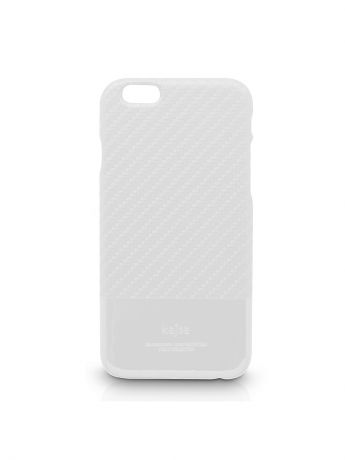 Kajsa Чехол для  iPhone 6 Plus Svelte Collection Carbon Fibre folio case [iPhone 6-5.5], White