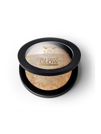 Kiss Kiss Бронзирующая пудра Deep Glow  Face & Body Bling Powder ABP04