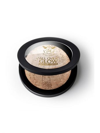 Kiss Kiss Бронзирующая пудра Light Glow Face & Body Bling Powder ABP01