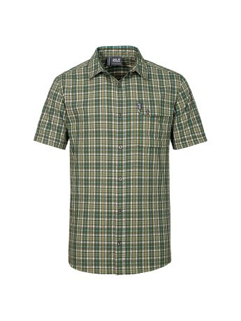 Jack Wolfskin Рубашка CROSSLEY SHORTSLEEVE SHIRT M