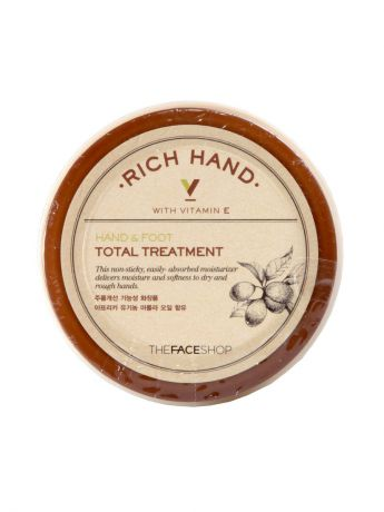 "The Face Shop Крем для рук и ног ""RICH HAND&FOOT TREATMENT"", 110мл"