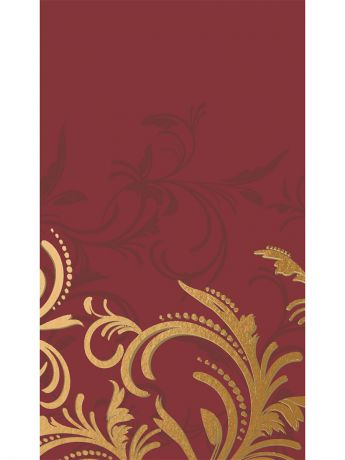 DUNI Скатерть DUNICEL 138X220 GRACE BORDEAU GRACE BORDEAUX