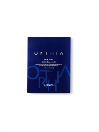 Orthia Набор масок Orthia Snail Pure Essential Mask Set of 5