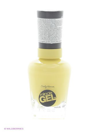 "SALLY HANSEN Гель лак для ногтей ""MIRACLE GEL"", Тон 390 lemon heaven"