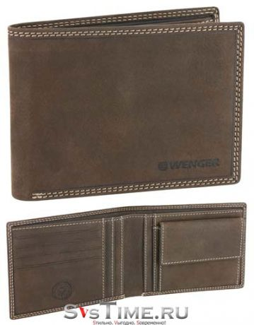 Wenger Портмоне Wenger W5-07 BROWN