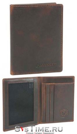 Wenger Портмоне Wenger W7-08 BROWN