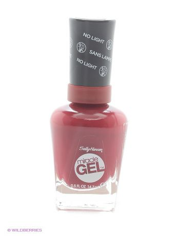 "SALLY HANSEN Гель лак для ногтей ""Miracle Gel"", Тон 440 dig fig"