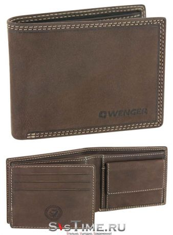 Wenger Портмоне Wenger W5-21 BROWN