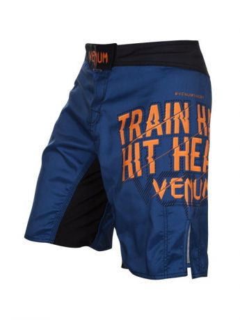 Venum Шорты ММА Venum Train Hard Hit Heavy Blue