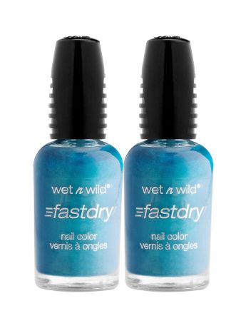 Wet n Wild Лак для ногтей fast dry nail polish, Спайка e227c teal or no teal