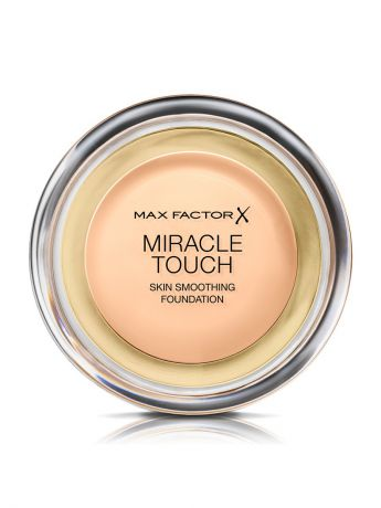 "MAX FACTOR Тональная Основа ""Max Factor Miracle Touch"", Тон 40 creamy ivory"