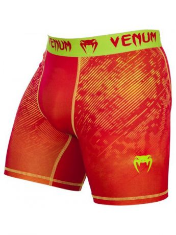 Venum Компрессионные шорты Venum Fusion Compression Shorts - Orange Yellow