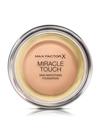 "MAX FACTOR Тональная Основа ""Max Factor Miracle Touch"", Тон 45 warm almond"