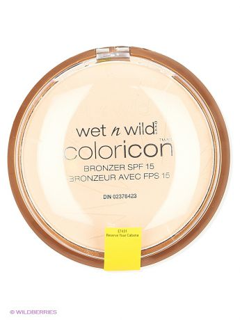 Wet n Wild Компактная пудра для лица бронзатор color icon bro, E7431 reserve your cabana