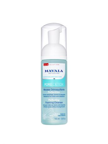 Mavala Mavala Очищающая Пенка Pore Detox Perfecting Foaming Cleanser 165ml 9054214