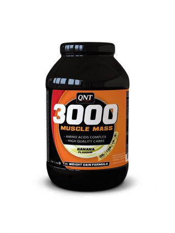 QNT Гейнер QNT Muscle Mass 3000 (банан),4,5 кг