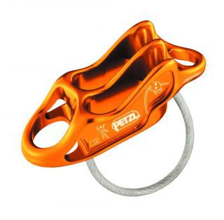Petzl Reverso 4 (orange, 1sz )