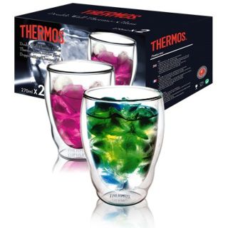 Thermos Double glass Tumbler