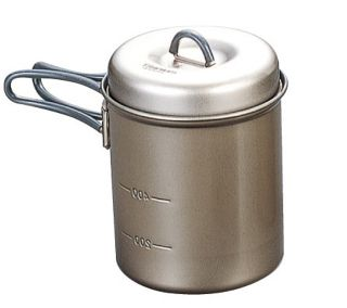 Evernew ECA401 Ti Non-Stick Deep Pot with Handle