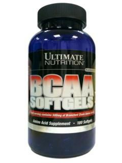 Ultimate Nutrition BCAA Ultimate Softgels (180капс)