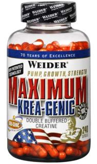 Weider Моногидрат креатина Weider Maximum Krea-Genic (240капс)