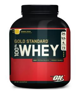 Optimum Nutrition Сывороточный протеин Optimum Nutrition 100% Whey Gold Standard (2270г)