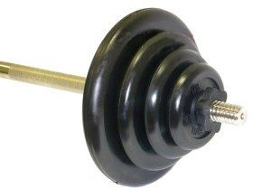 Mb Barbell Штанга Mb Barbell 84кг 150см (25мм)